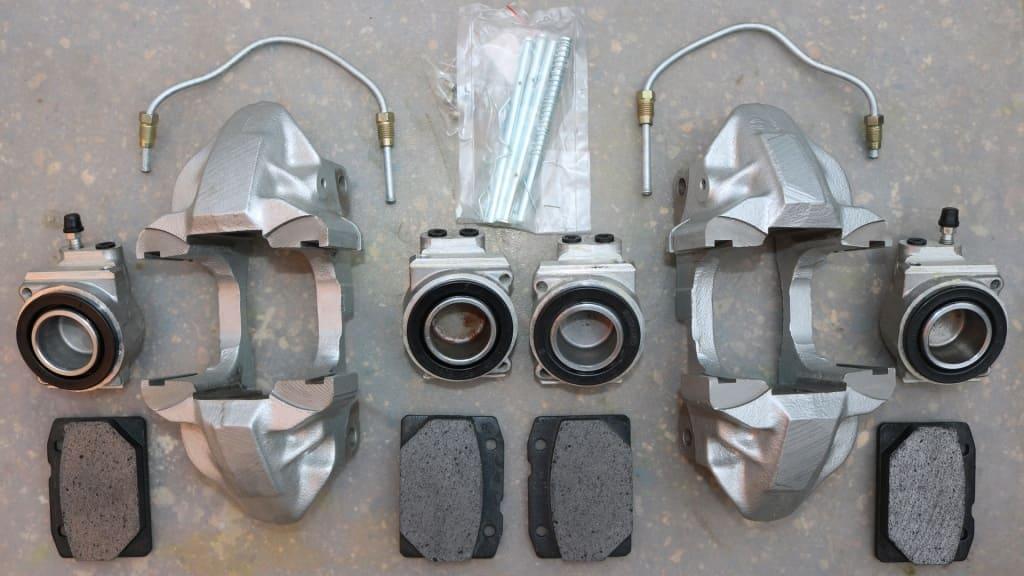 Ремонт и обслуживание тормозного суппорта Ауди в Тюмени