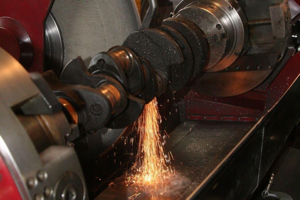 Ремонт коленчатого вала (коленвала) двигателя Мини в Тюмени