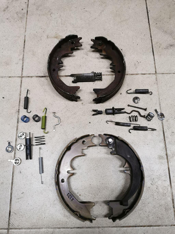 Ремонт ручного тормоза (ручника) Ауди в Тюмени