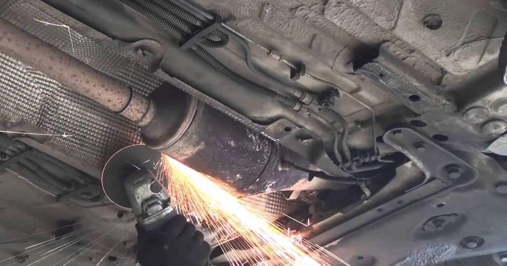 Удаление сажевого фильтра Шкода в Тюмени