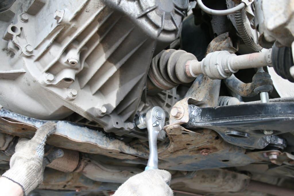 Замена масла в МКПП Порше в Тюмени