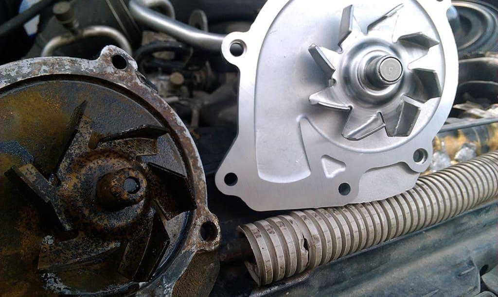 Замена помпы двигателя Мини в Тюмени