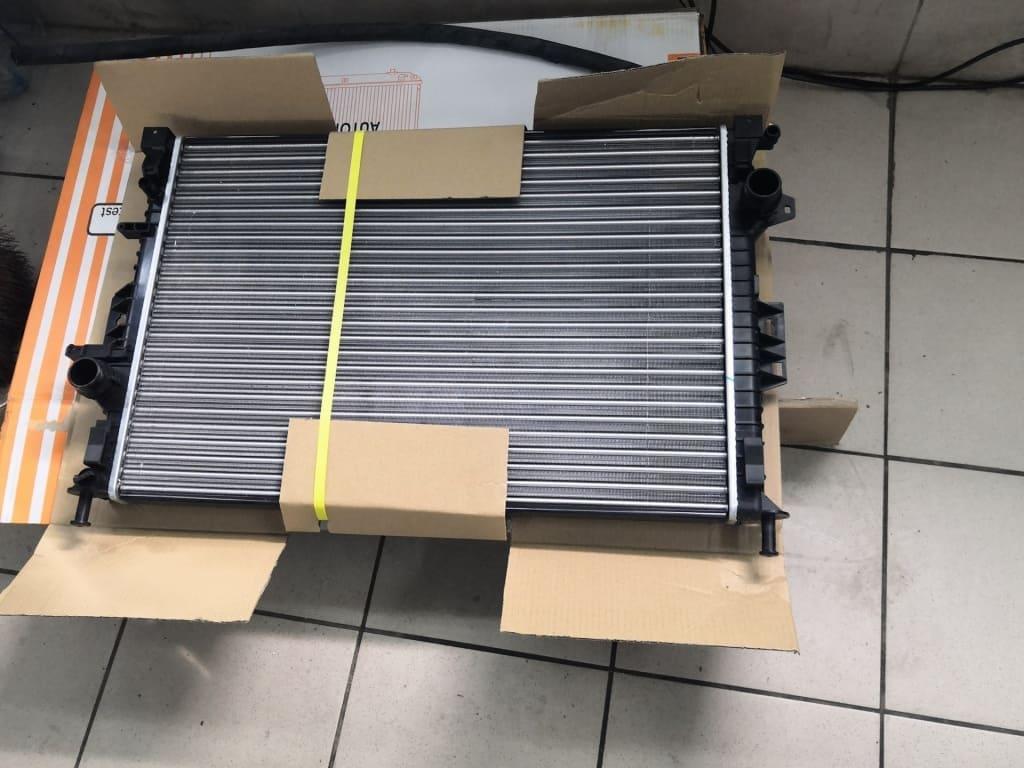Замена радиатора Порше в Тюмени