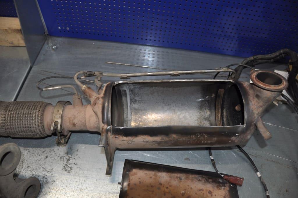 Замена сажевого фильтра Шкода в Тюмени
